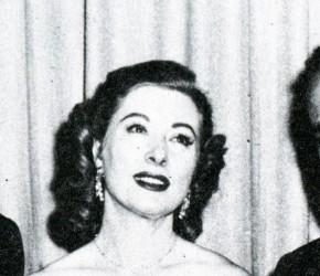 Karl Malden, Greer Garson und Humphrey Bogart (v.l.n.r.).