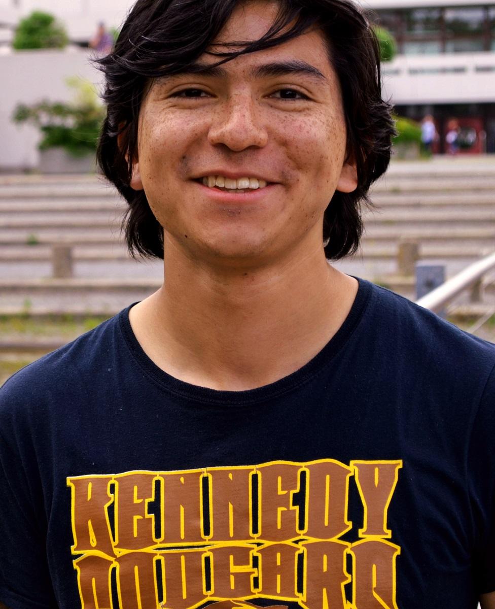 Andres Vargas ist einer von wenigen Jungen, die als Au-Pair ins Ausland gehen. (Foto: Amanda Müller)