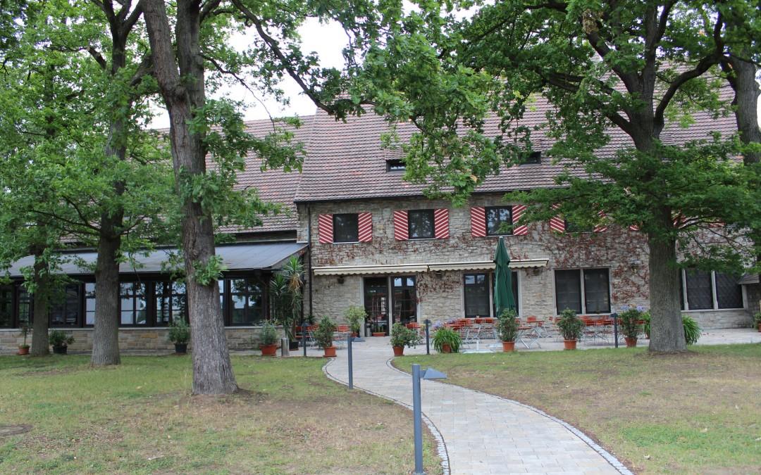Das ehemalige Offizierskasino am Richthofen Circle ist nun ein Hotel. (Foto: Thomas Feiler)