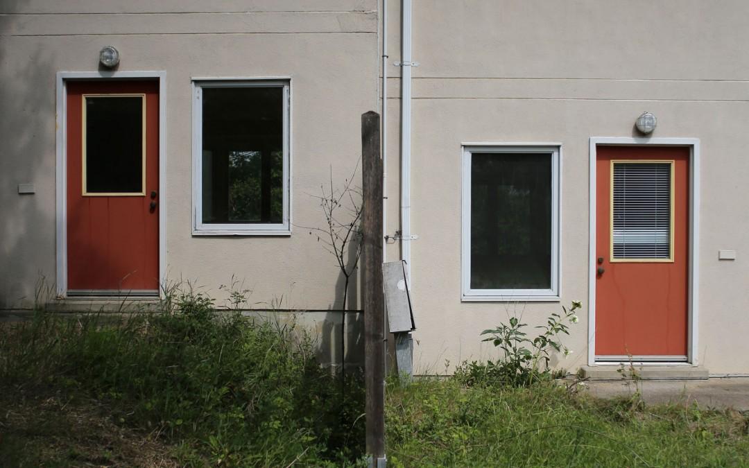 Die 103 Reihen- und Doppelhäuser, die sogenannten Texashäuser, wurden 1988 erbaut. (Foto: Christoph Eiben)