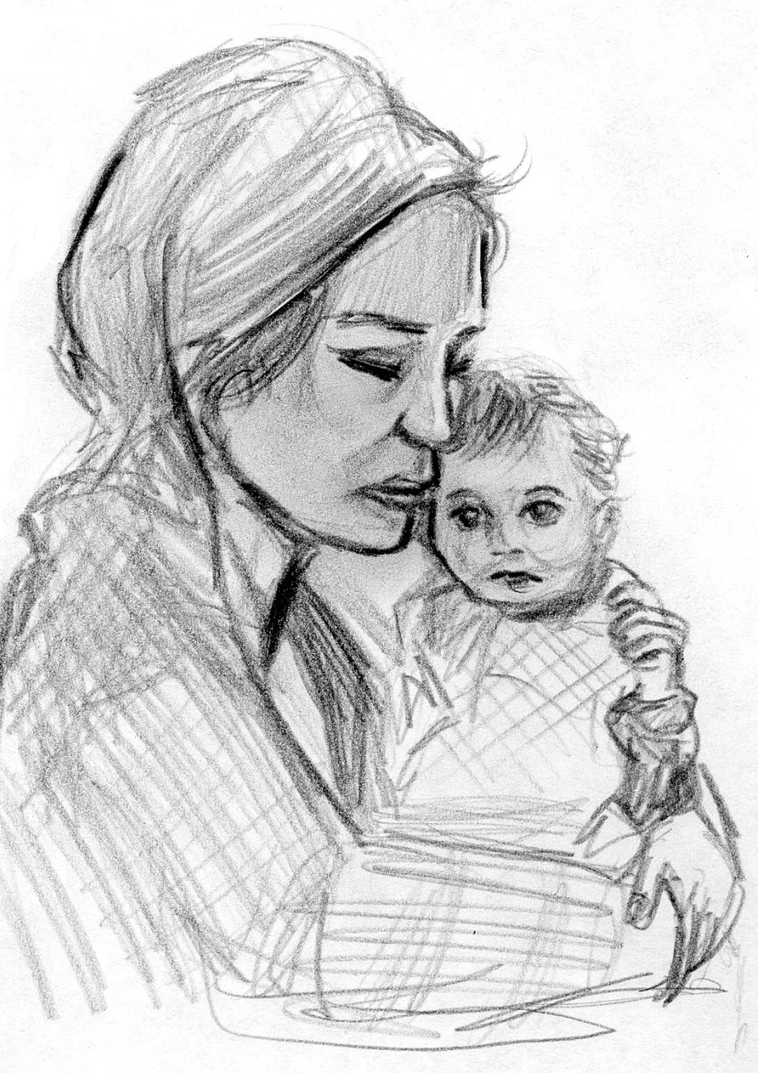 Adamna (Zeichnung: Amanda Müller)