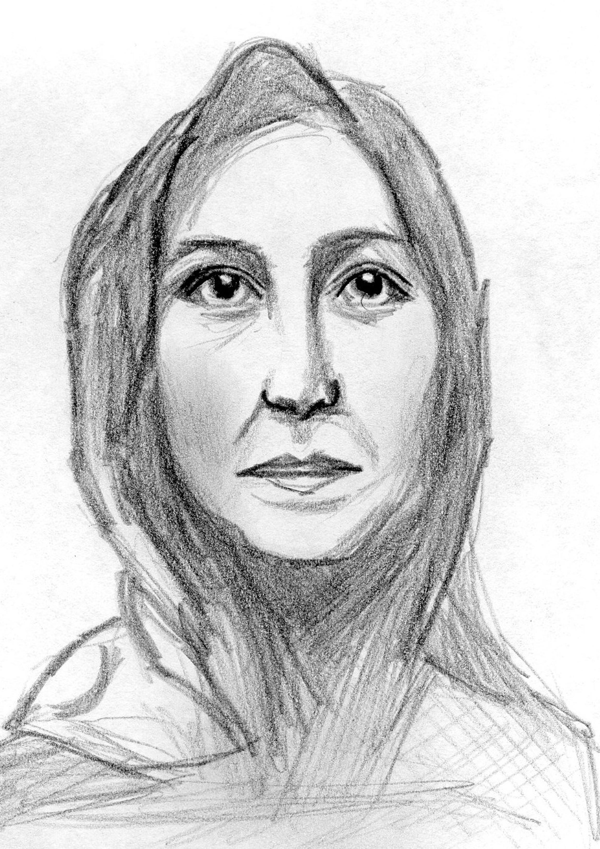 Malika (Zeichnung: Amanda Müller)
